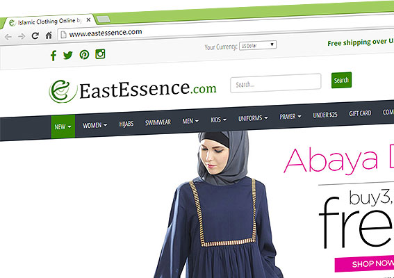 abaya and jilbab online store