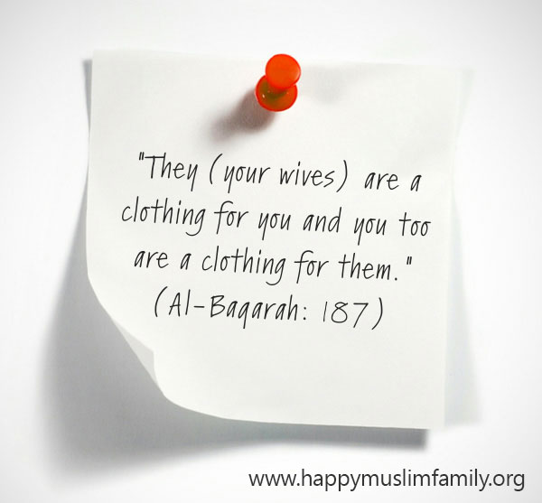 husband and wife in islam quote